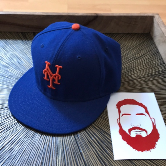 0b205bd4 MLB New York Mets Fitted Hat - 7 1/8 🗽⚾️